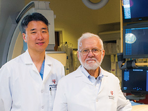 Dr. William Whang and Dr. Hasan Garan
