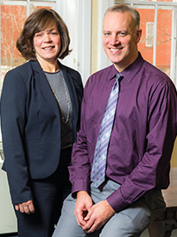 Dr. Jo Anne Sirey and Dr. Patrick J. Raue