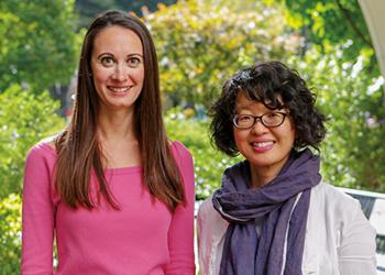 Dr. Catherine A. Riffin and Dr. Keiko Kurita