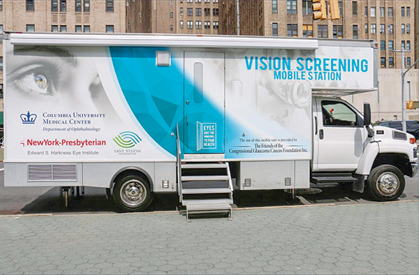 vision screening van