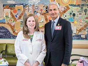 Dr. Catherine E. McGuinn and Dr. Sujit Sheth