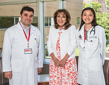 Dr. Vitor Coutinho, Dr. Evelyn C. Granieri, and Dr. Nora Chen