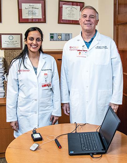 Ruchi Patel, MA, OTR/L, and Dr. Michael W. O'Dell