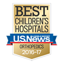 U.S. News Best Children's Hospitals - Orthopedics