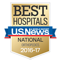U.S. News Best Hospitals - Orthopedics