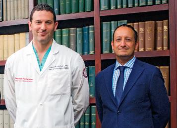 Dr. Jared Knopman and Dr. Halinder S. Mangat