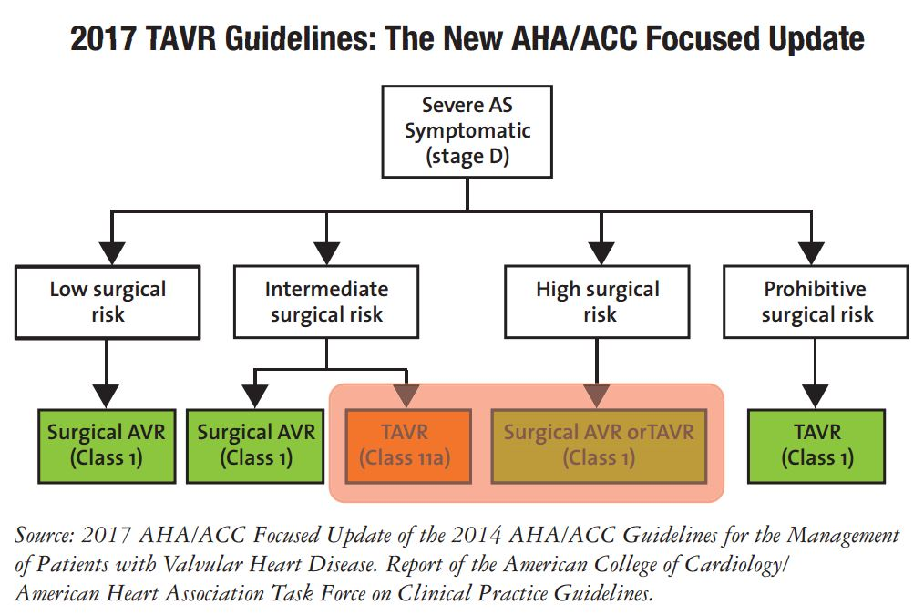 2017 TAVR guidelines