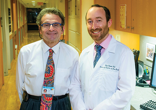 Simon Lichtiger, MD, and Garrett Lawlor, MD