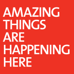 Amazing Things Are Happening Here logo