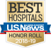 US News & World Report Best Hospitals Honor Roll 2018-2019