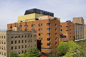 exterior of New York Presbyterian Brooklyn Methodist Hospital