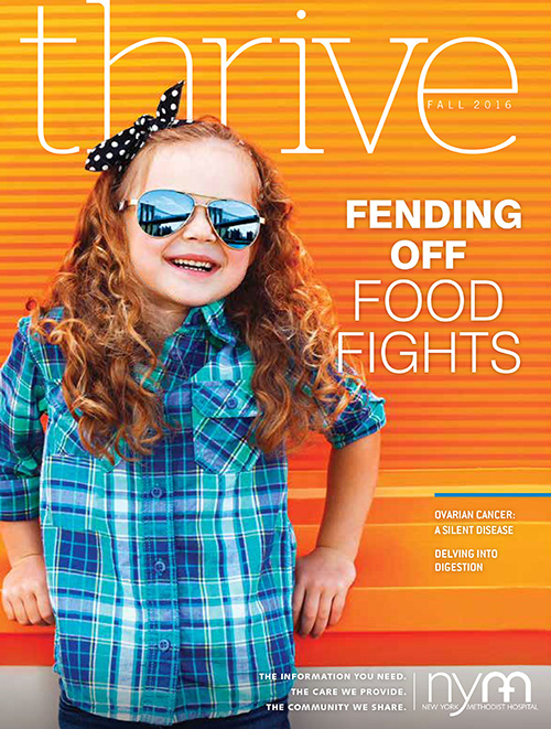 Thrive Magazine Winter 2017 Cover