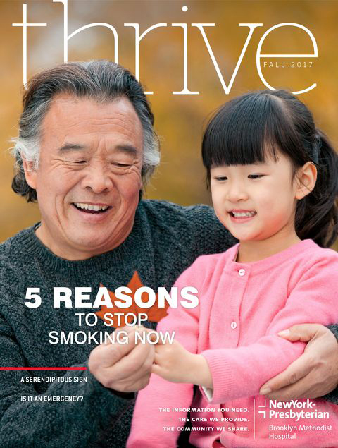 Thrive Magazine Fall 2017 Cover