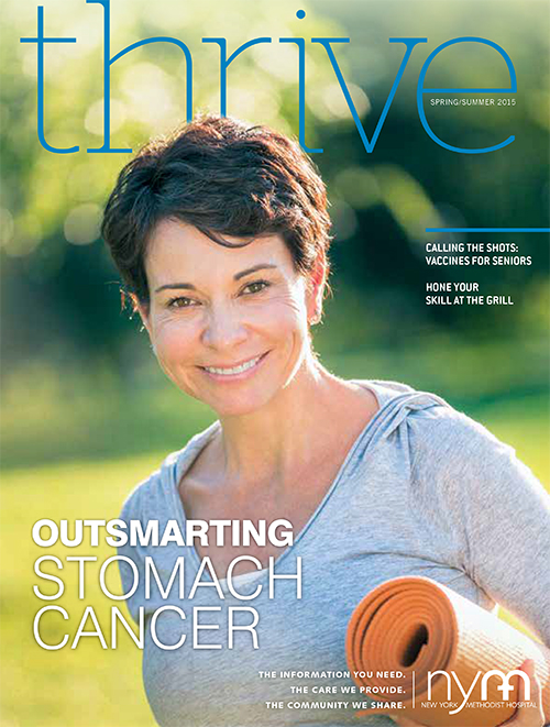 Thrive Issue 8 Summer 2015 cover image