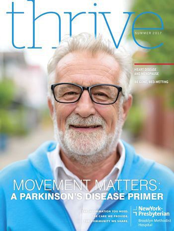 Thrive Magazine Summer 2017 Cover