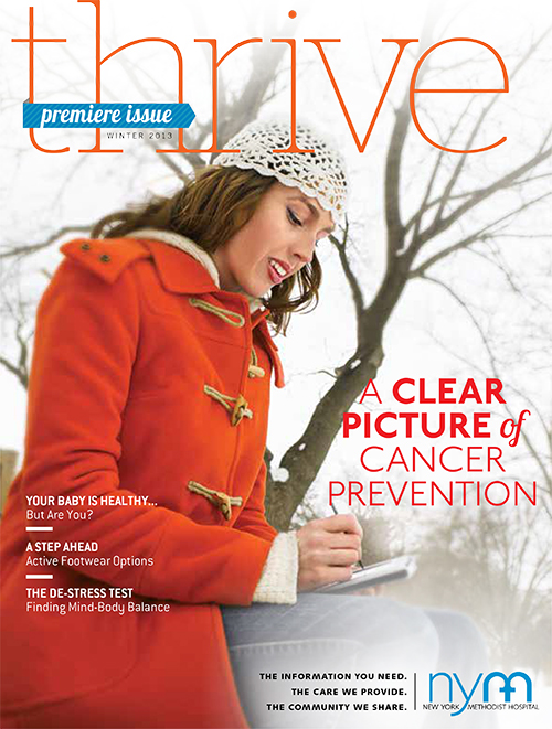 Thrive Premier Issue: Winter 2013