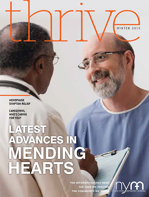 Thrive Magazine Issue 7 Winter 2015 cover image