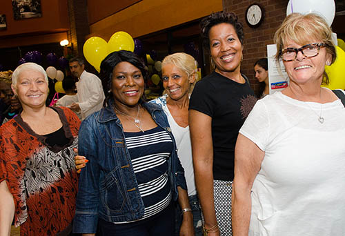 Attendees at last year's evening for women's health at New York Methodist Hospital