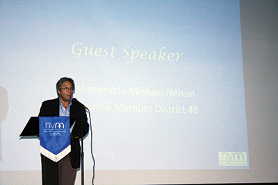 Council Member Michael Nelson, of District 48