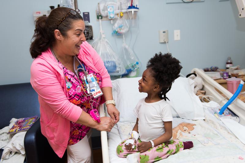 Above, Diane Bonet, R.N., has received New York Methodist Hospital