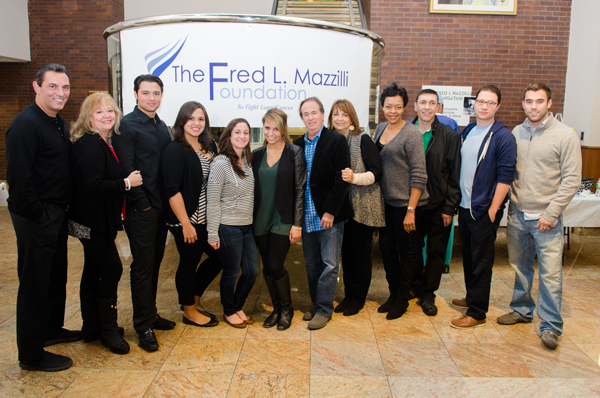 Major League All-Star Lee Mazzilli (far left), pictured here with members of the foundation that bears his brother