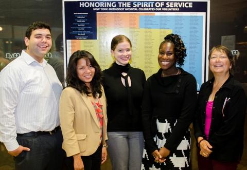 New York Methodist Hospital Celebrates its Volunteers   2013