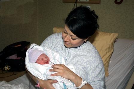 Myra Moran with baby Richard Moran