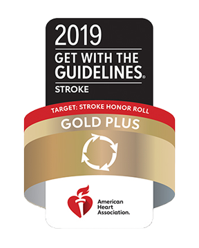 American Heart Association/American Stroke Association Get With The Guidelines®-Stroke Gold Plus award
