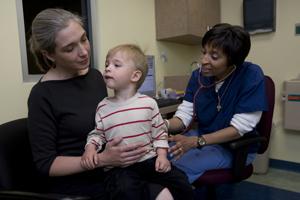 Separate Pediatric Emergency Area