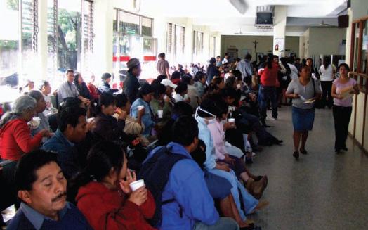Guatemalan People at a Hospital