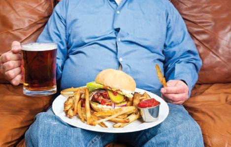 hamburgers and beer