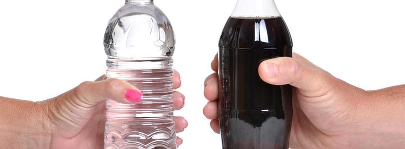 water vs soda