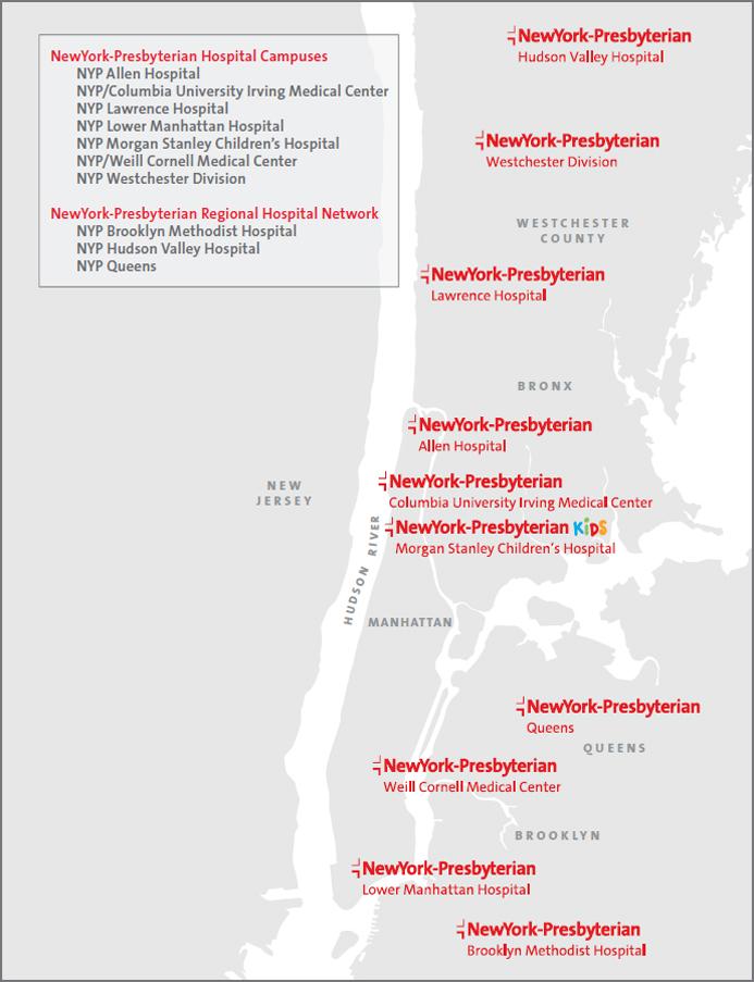 NewYork-Presbyterian Locations