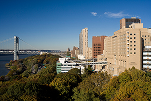 exterior of New York Presbyterian Columbia University Medical Center campus