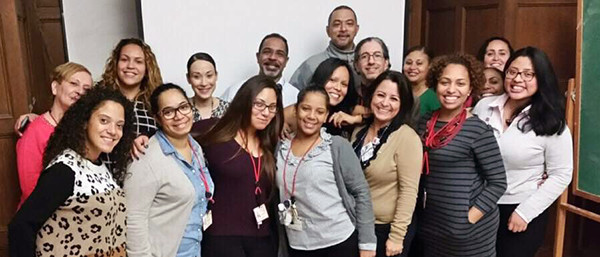 Members of the Patient Navigator Team at New York Presbyterian Columbia University Medical Center