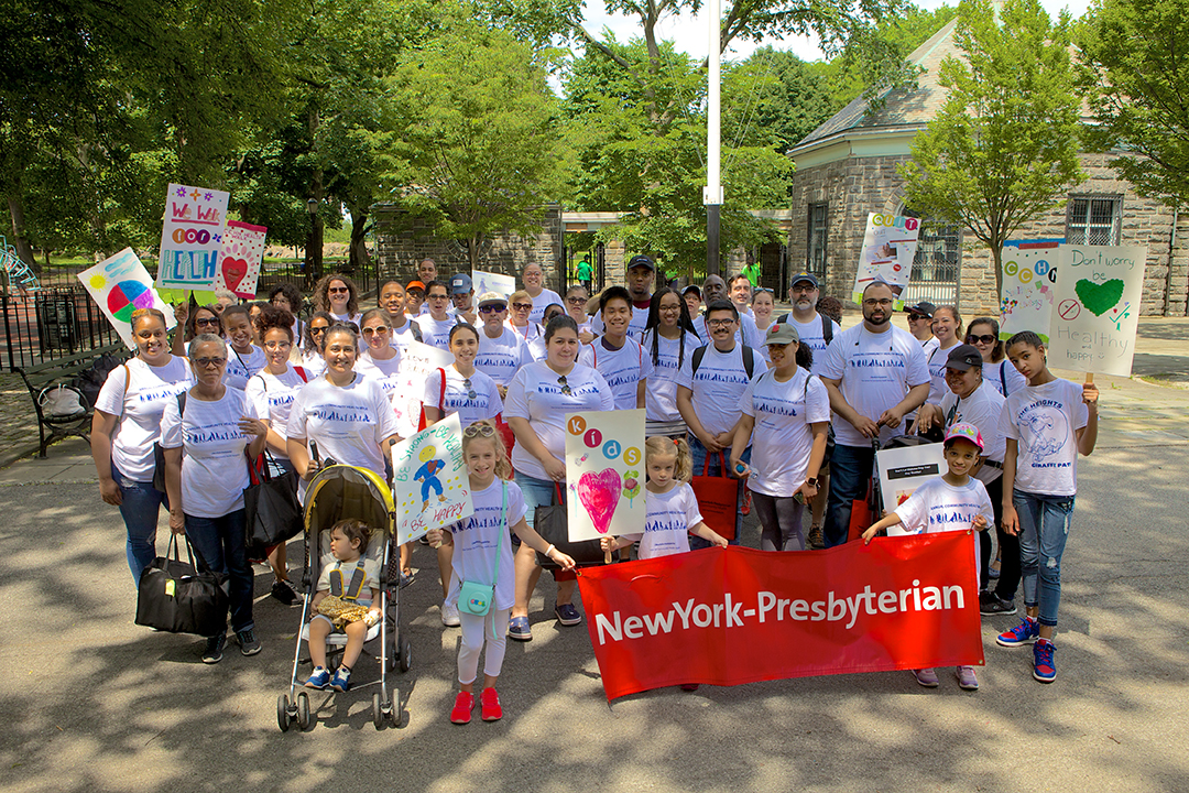 WIN for Health all members at their Annual Walk