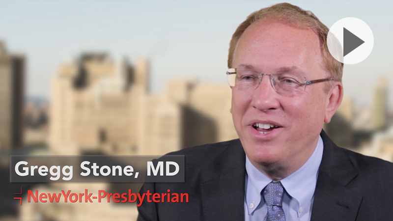 Dr. Gregg Stone discusses the benefits of TAVR.