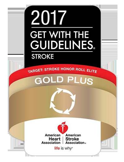 AHA Stroke Honor Roll: Gold Plus