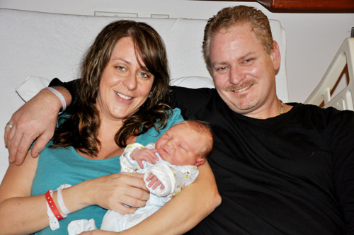 Putnam Valley Couple Have NewYork-Presbyterian/Hudson Valley Hospital's First Baby of 2011