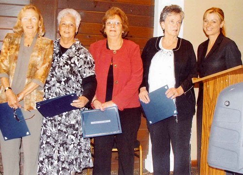 Seniors Honored for Baby Blanket Project