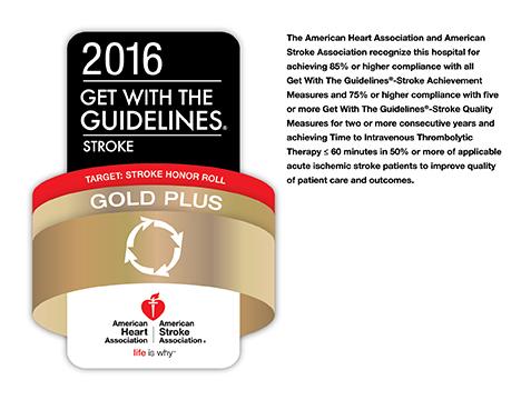 NewYork-Presbyterian/Hudson Valley Hospital Receives AHA Gold Plus Award for Stroke Care