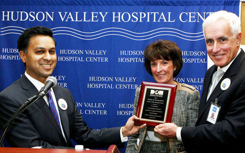 NY State Health Commissioner Visits HVHC
