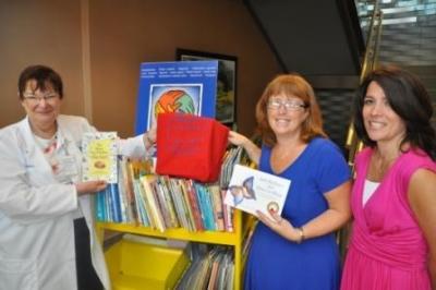 Hendrick Hudson Library Donates Books to Children's Cancer Support Program at HVHC