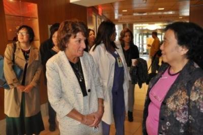 Chinese OB-GYNS visit NewYork-Presbyterian/Hudson Valley Hospital