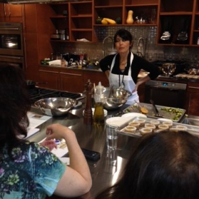 Healthy Thanksgiving Cooking Class Launches Teaching Kitchen