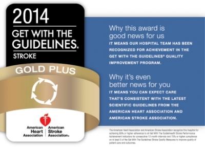 NewYork-Presbyterian/Hudson Valley Hospital Receives AHA Gold Plus Award