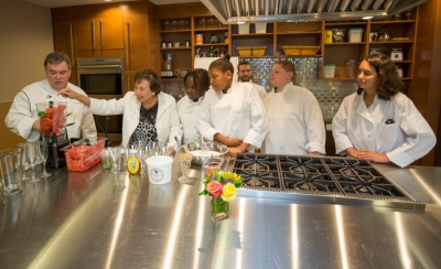 Chef Peter X. Kelly Teaching Kitchen Opens