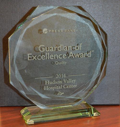 NewYork-Presbyterian/Hudson Valley Hospital Wins Guardian of Excellence Award