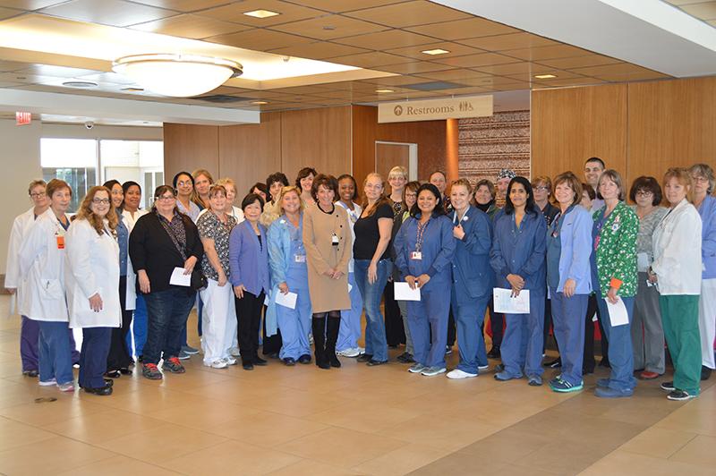 NewYork-Presbyterian/Hudson Valley Hospital Celebrates Nursing Certification Day