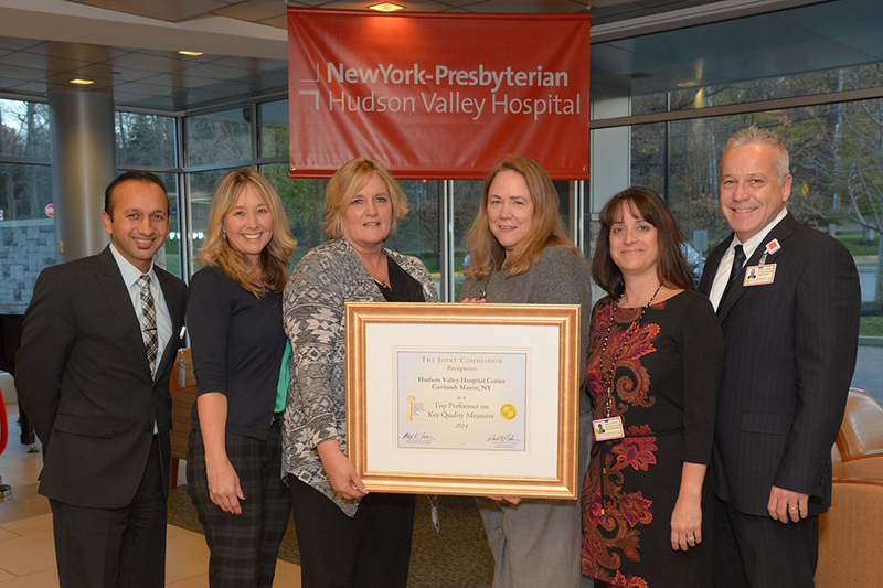 NewYork-Presbyterian/Hudson Valley Hospital Earns 'Top Performer on Key Quality Measures®' Recognition from The Joint Commission